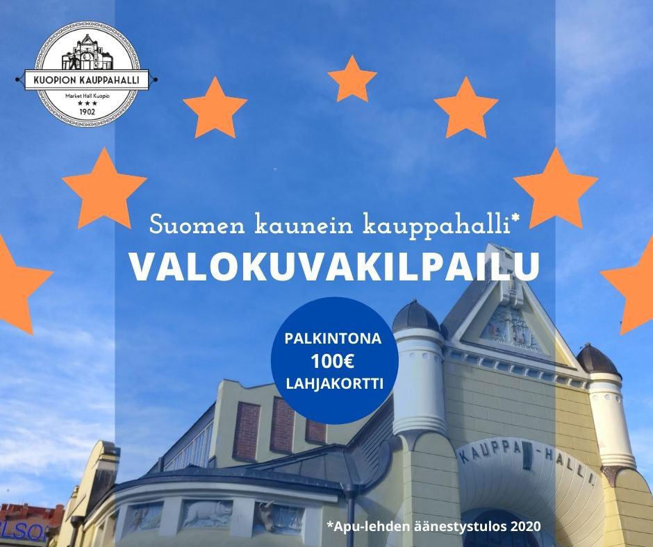 Valokuvakilpailu Kuopion kauppahalli